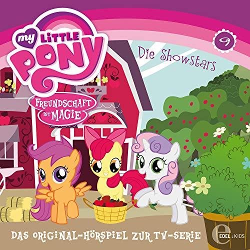 Babysitter Fluttershy / Die Showstars. Das Original-Hörspiel zur TV-Serie Titelbild