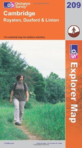 OS Explorer map 209 : Cambridge