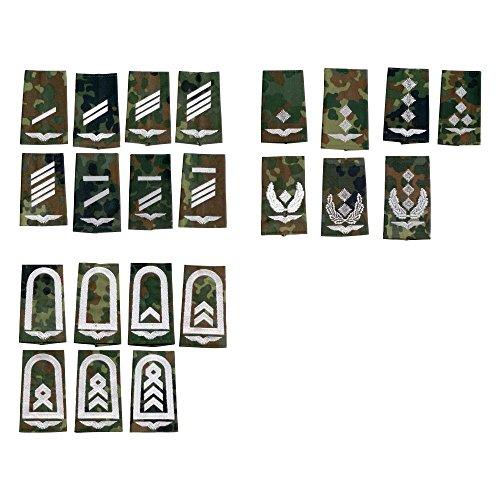 Unbekannt BW Rangabzeichen Luftwaffe flecktarn-weiß Ausführung Gefreiter