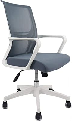 Sdcvopl Swivel Task Chair Mid-Back Mesh Office Chair Padded High-Density Sponge Seat
