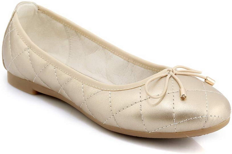 AN Womens Leopard Bows Urethane Pumps shoes DGU00743