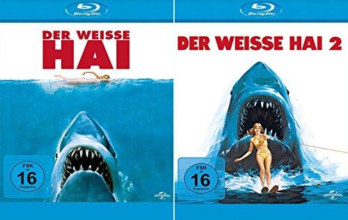 Der weisse Hai 1 + 2 Collection [2er BluRay-Set]