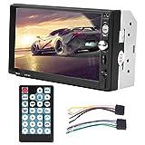 EBTOOLS 7 pollici universale HD Bluetooth doppio DIN Car Stereo MP5 Player Car Radio Ricevitore Audio Video Player Pupports FM USB AUX MP5 Multimedia con telecomando