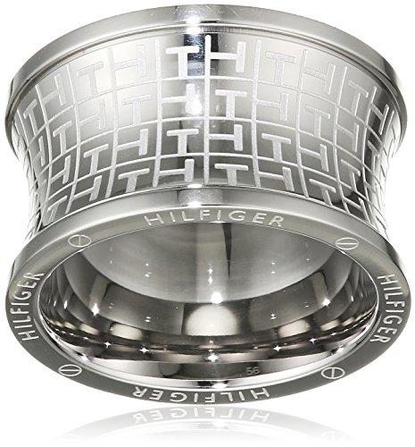 Tommy Hilfiger Jewelry Damen-Ring Classic Signature Edelstahl Gr. 56 (17.8) - 2700816D