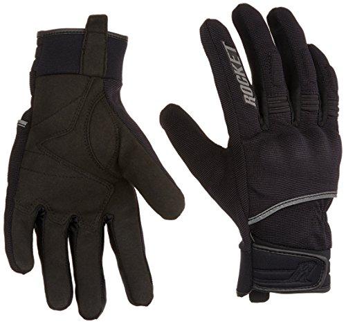 Joe Rocket 1555-1004 Men's Resistor Glove (Black, Large)