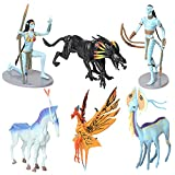 6 unids / Set Avatar 2 Neytiri et Jake PVC Figura Modelo Juguetes 6-17 cm