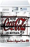 Spülmaschinen-Aufkleber oder -Magnet Coca Cola 1721, 60 x 60 cm