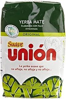 Union Yerba Mate Con Palo (Suave) 1kg / 2.2lb 2 Pack