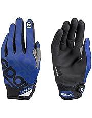 Sparco S002093AZ4XL Meca-3 Handschoenen, Blauw, XL - 1 Paar