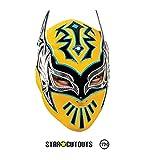 Star Cutouts Ltd SM345 Sin Cara WWE Masque amusant pour la famille, les amis et les fans Multicolore