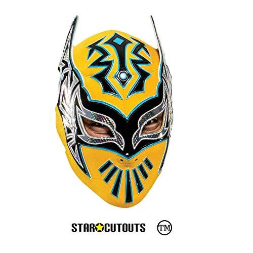 Star Cutouts Ltd SM345 Sin Cara WWE Maske, großer Spaß für Familie, Freunde und Fans