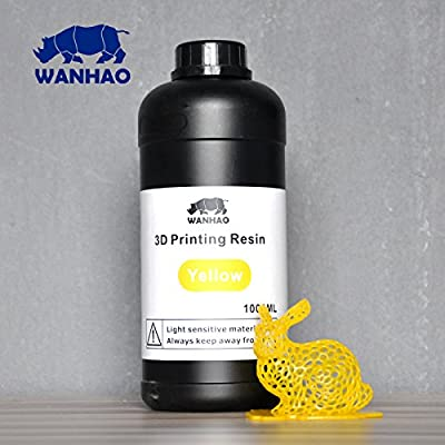 Wanhao 3D-Printer UV Resin - 1000 ml - Yellow