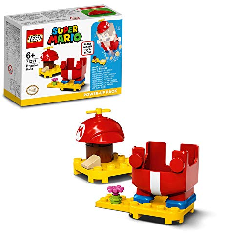 LEGO 71371 Super Mario Propeller-Mario - Anzug- Erweiterungsset, Power-Up Pack, Fly & Flow Kostüm