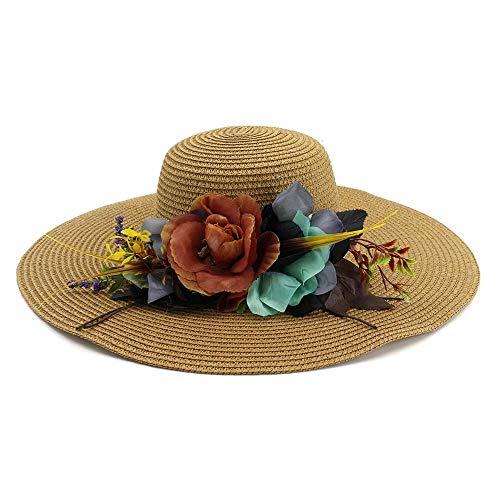 Xinkai - Sombrero de Paja para jardinería
