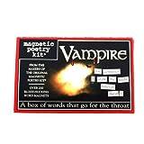 Vampire Fridge Magnet Poetry Set - Fridge Poetry