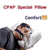 SUN RDPP CPAP Pillow Professional for Sleeping with CPAP Machine, Works for Side, Back and Stomach Sleepers,...