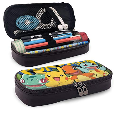 pokemon pikachu Large-capacity pencil bags, cosmetic bags for youth schools, school bags, storage boxes, student stationery