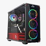 CeO-Tech Omega V1 PC Gaming - CPU AMD Athlon 3000G 3.50 MHz (Unlocked for Overclocking)  RAM 16GB DDR4   SSD 240GB   Radeon Vega 3   Ultra HD 4K   Wi-Fi   Windows 10 Pro