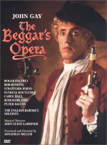 John Gay - The Beggar's Opera / Jonathan Miller · John Eliot Gardiner · Roger Daltrey · English Baroque Soloists [Import USA Zone 1]