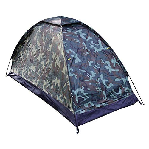 Greenhouse tent Outdoor Camping Tent 1-Person Pop-up camping wandelen Tent waterdicht Camouflage Outdoor Family Trip Tent van de Koepel