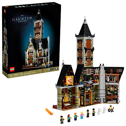LEGO Haunted House (10273) Building Kit; A Displayable Model Haunted House and a Creative DIY Project for Adults, New 2021 (3,231 Pieces)