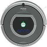 iRobot Roomba 782e Robot Aspirador, Alto Rendimiento de Limpieza, Programable, Limpia Varias Habitaciones, Atrapa el Pelo de Mascotas, 33 W, 61 Decibelios, Plata