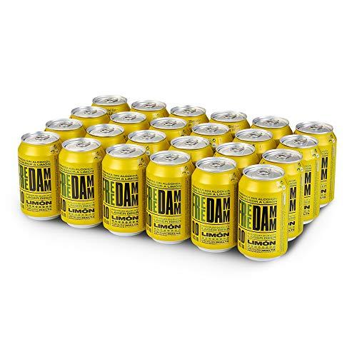 Free Damm Cerveza Limón - Paquete de 24 x 330 ml - Total: 7920 ml
