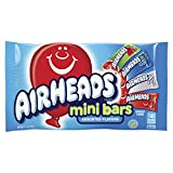 Airheads Candy Variety Bag, Individually Wrapped Assorted Fruit Mini Bars, Party, Non Melting, 12 Ounces from Perfetti Van Melle