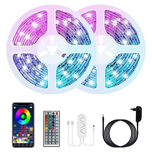 20M Striscia LED, COOLAPA Bluetooth Strisce LED con...