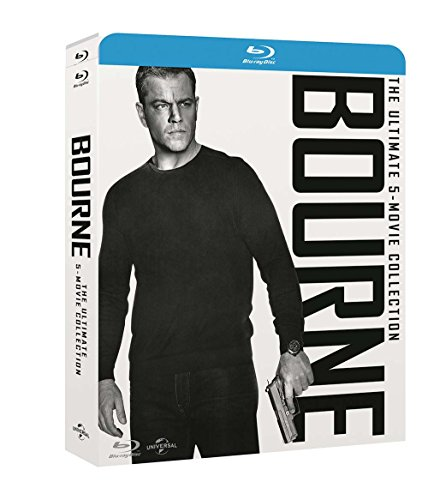 Jason Bourne Movie Collection (5 Blu-Ray) [audio español] [Italia] [Blu-ray]