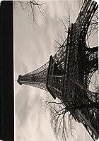 Rikki Knight Vintage Eiffel Tower Faux Suede Notebook Binder Portfolio (Ruled Notebook included) [並行輸入品]