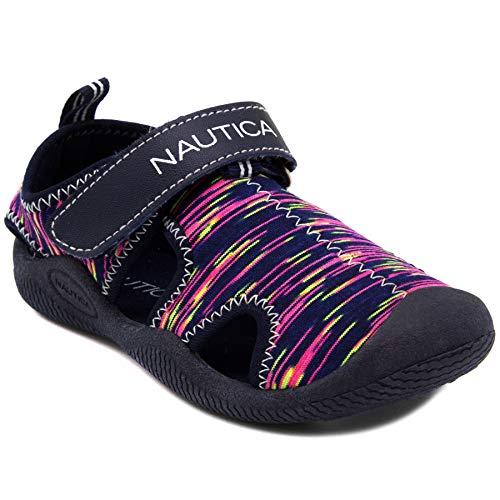 Nautica Kettle Gulf Wasser-Schuh, geschlossener Zehenbereich, Sport-Sandale (Kleinkind/kleines Kind), (Mehrfarbig bedruckt), 23 EU