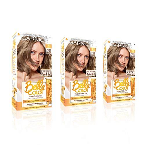 Garnier Belle Color Blonde Hair Dye Permanent, Natural looking Hair Colour,...