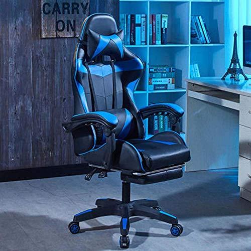 Computerstuhl Home Office Stuhl Komfortable Sitzstuhl Schlafsaal College Student Rückenlehne E-Sports Stuhl Spielstuhl, c MISU (Color : B)