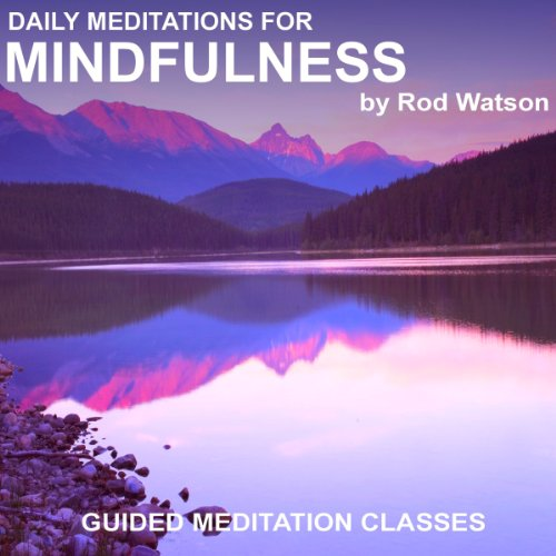 Daily Meditations for Mindfulness audiobook cover art
