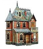 CLEVER PAPER- Puzzles 3D Casa de muñecas Victoriana I (14283)