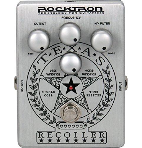 Rocktron Boutique Stompbox Texas Recoiler pedal Booster Ecualizador special simple bobinado