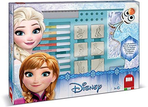 Multiprint Frozen - Juegos de Sellos para niños (Multicolor