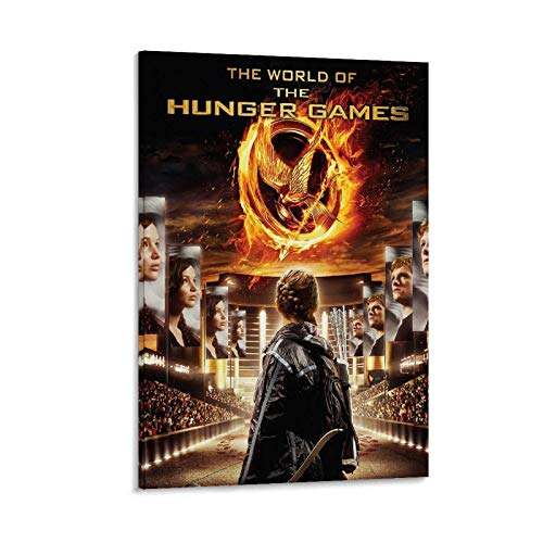 ZHILIAO World of The Hunger Games Canvas Art Poster and Wall Art Picture Print Modern Family Room Decor Poster 20 x 30 inches (50 x 75 cm)