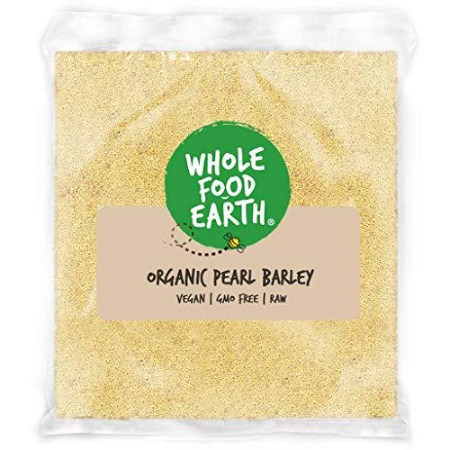 Wholefood Earth - Organic Pearl Barley - Vegan - GMO Free - 3kg