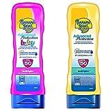 Banana Boat Crema Solar Bundle Para Bebé Y Adulto (Crema) Advanced Protection