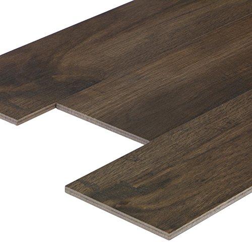 "\""Wood Teak\"" Bodenfliesen 15,0x60,8 cm, Feinsteinzeug Fliesen in Holzoptik (1 m²)"