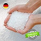Green Bean © EPS Perlen - höchste Premium Qualität - Nachfüllpack Sitzsack-Füllung - Styropor-Kügelchen - 50 Liter
