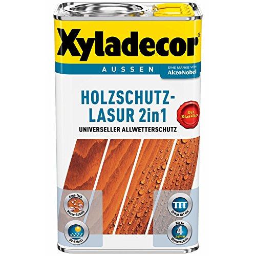 Xyladecor Holzschutz-Lasur 2in1 Salzgrün 5 Liter 6€/L