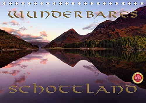 Wunderbares Schottland (Tischkalender 2021 DIN A5 quer)
