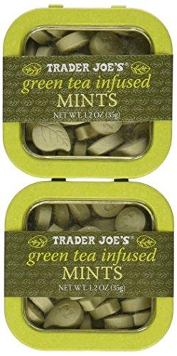 Trader Joe's Green Tea Mints (Pack of 2)