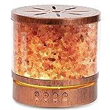 400ML Diffusore di Oli Essenziali di Oli Essenziali, 23dB Diffusore di Aromi con 7 colori LED, Diffusore Ambiente Fino a 15 Ore, Diffusore di Oli Essenziali per Yoga, Senza BPA