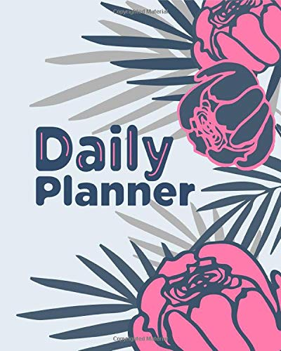 Daily Planner: Perfect Simple Planner Journal, what to do check list and what to buy, 186 lined pages Large (8 x 10 inches)