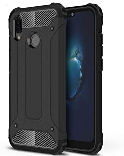 RKINC Case for Huawei Honor 8X, Rugged Hybrid Tough Armor Dual Layer Shockproof Bumper Heavy Duty Case for Huawei Honor 8X...