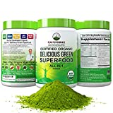 Best Green Superfood Powders - Peak Performance Organic Greens Superfood Powder. Best Tasting Review